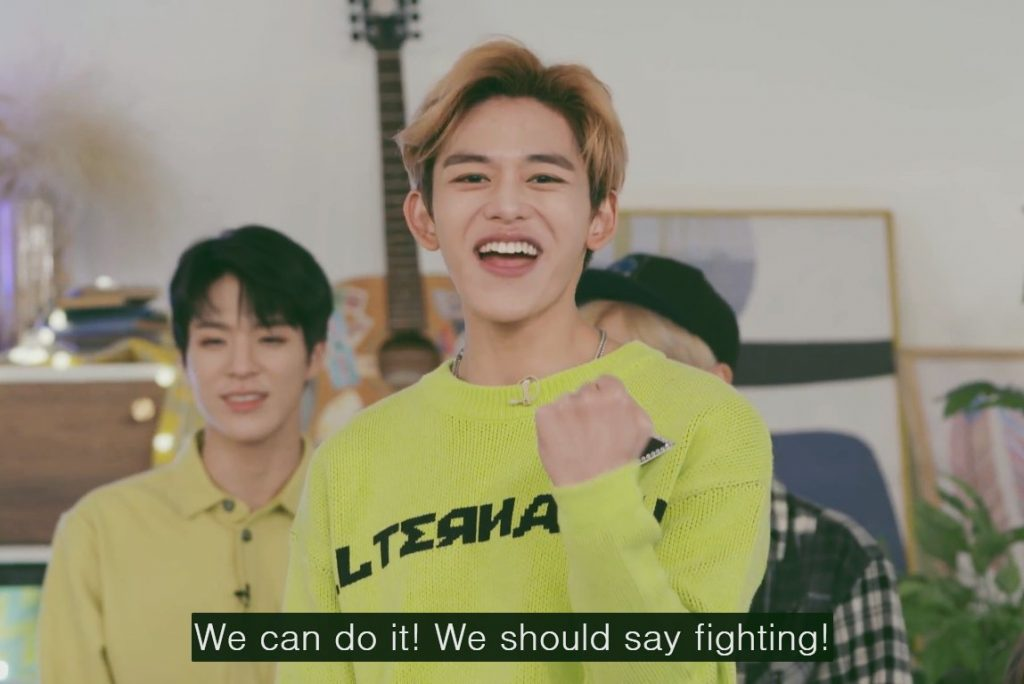 Lucus NCT Fighting